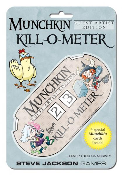 Munchkin: Kill-O-Meter Ian McGinty Guest Artist Edition