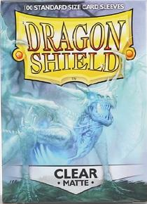 Dragon Shields: Matte Clear Sleeves (100)