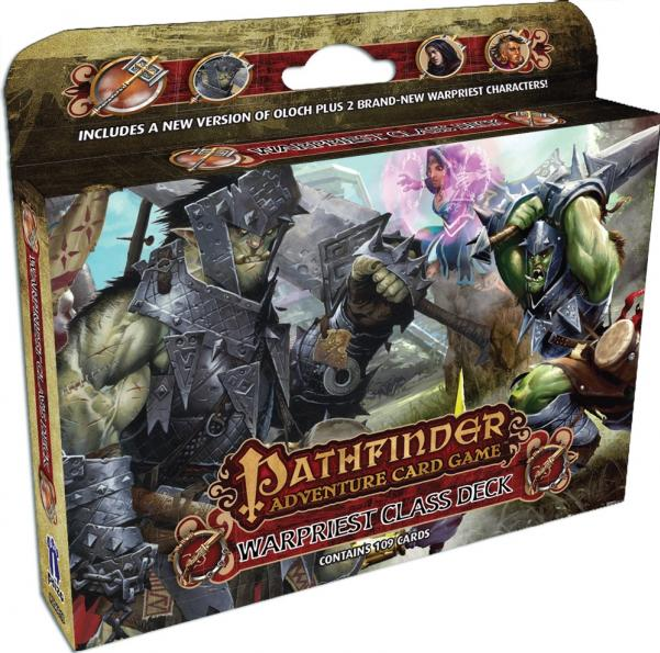 Pathfinder Adventure Card Game: (Class Deck) Warpriest