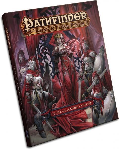 Pathfinder RPG: (Adventure Path) Curse Of The Crimson Throne (HC)