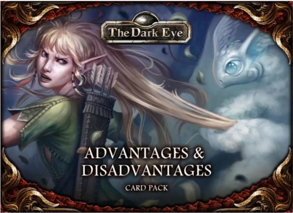 The Dark Eye RPG: Advantages & Disadvantages Card Pack