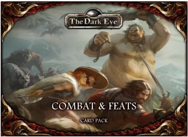 The Dark Eye RPG: Combat & Feats Card Pack