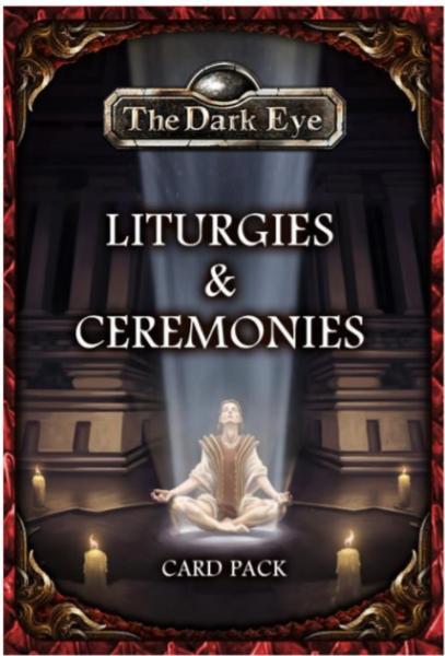 The Dark Eye RPG: Liturgies & Ceremonies Card Pack