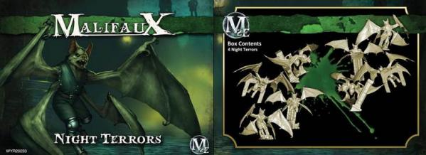 Malifaux: (The Resurrectionists) Night Terrors