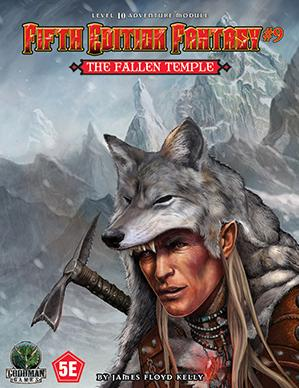 Dungeons & Dragons RPG: (Fifth Edition Fantasy) #9 The Fallen Temple