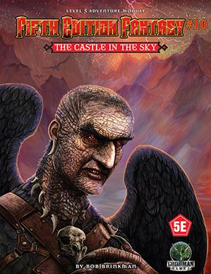 Dungeons & Dragons RPG: (Fifth Edition Fantasy) #10 The Castle In The Sky