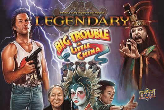 Legendary: Big Trouble in Little China Core Set