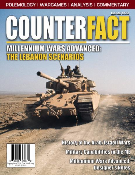 CounterFact Magazine: #3 The Lebanon Scenarios (Millenium Wars Advanced)