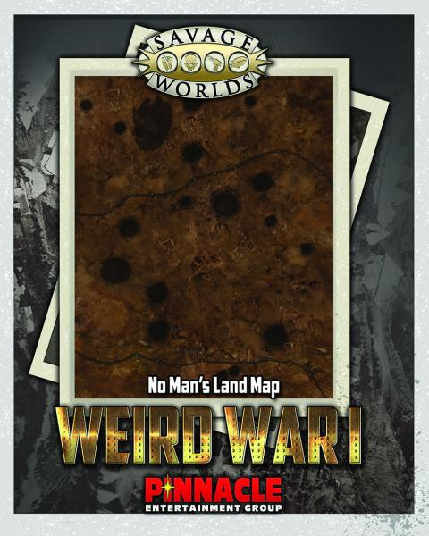 Savage Worlds RPG: (Weird War I) No Man's Land/Village Map Set