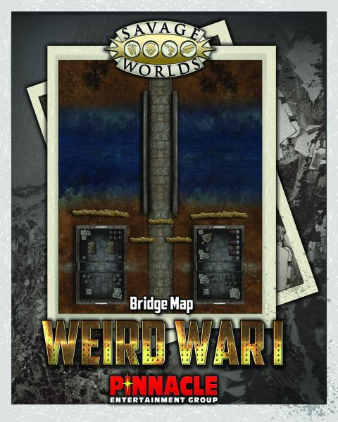 Savage Worlds RPG: (Weird War I) Bridge/Trenches Map Set