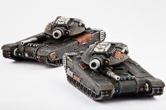 Dropzone Commander: (The Resistance) Mehmed Siege Tank/Hannibal MBT