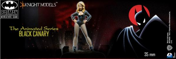 Batman Miniature Game: Black Canary (Animated Series)