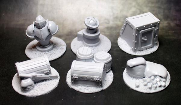 Accessories: Ironsides Objective Markers (6)