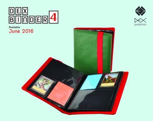 Dex Binder 4 (Green)