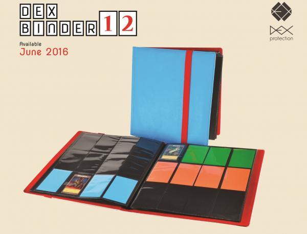Dex Binder 12 (Sky Blue)