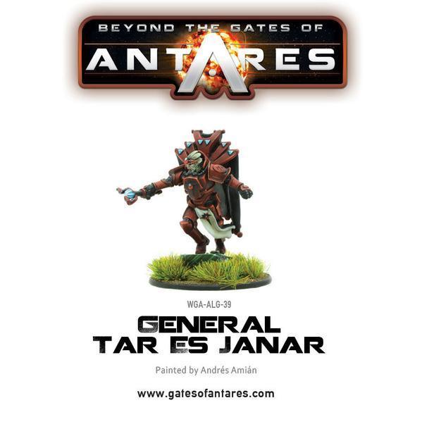Beyond The Gates Of Antares: (Algoryn) General Tar Es Janar