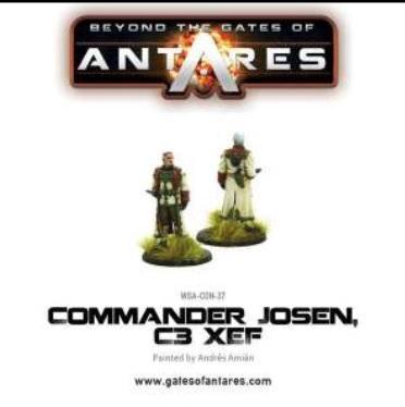 Beyond The Gates Of Antares: (Concord) Commander Josen