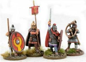 28mm Ancients: Late Roman Infantry Command #1