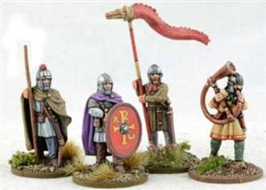 28mm Ancients: Late Roman Infantry Command #2