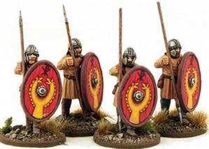 28mm Ancients: Late Roman Unarmoured Infantry
