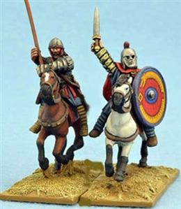 28mm Ancients: Late Roman General & Standard Bearer
