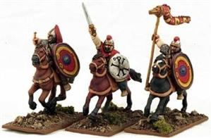 28mm Ancients: Late Roman Cavalry Command #1