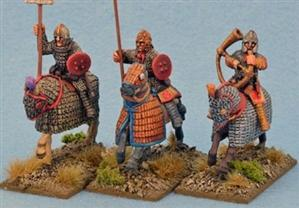 28mm Ancients: Late Roman Cataphract Command