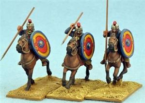 28mm Ancients: Late Roman Unarmoured Cavalry