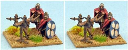 28mm Ancients: Late Roman Scorpion Bolt Throwers