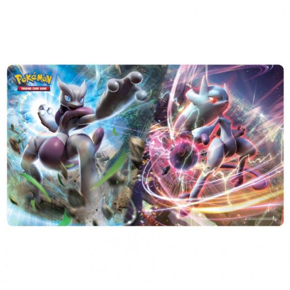 Pokemon CCG: Play Mat - Mega Mewtwo X and Y