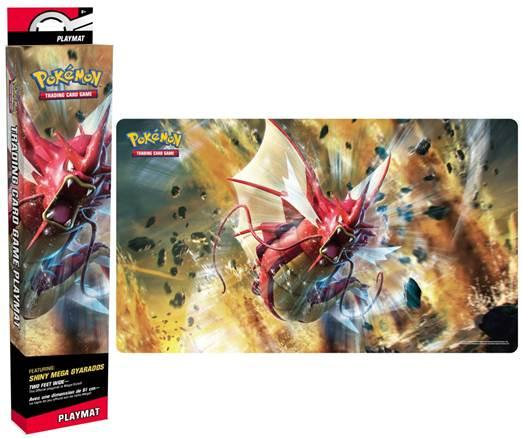Pokemon CCG: Play Mat - Shiny Mega Gyarados