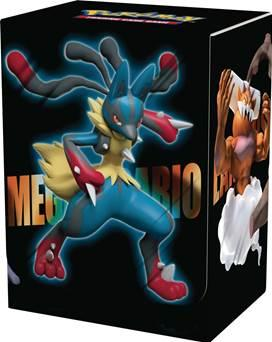 Pokemon CCG: Deck Box - Mega Lucario