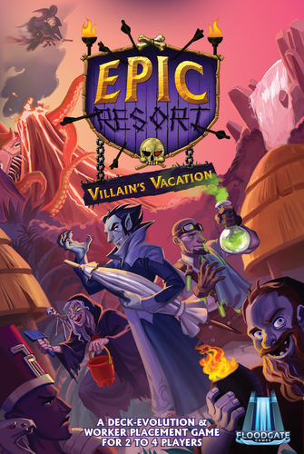 Epic Resort, 2nd Edition: Villain's Vacation (Expansion)