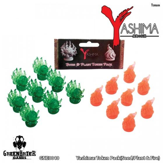 Yashima Legend Of The Kami Masters: Token Pack Seed Plant and Fire