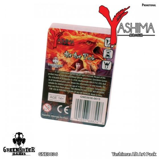 Yashima Legend Of The Kami Masters: Alternate Art Pack