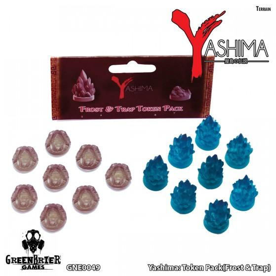 Yashima Legend Of The Kami Masters: Token Pack Frost and Trap
