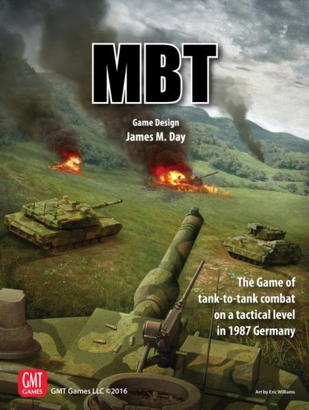 MBT: The Game Of Tactical Tank-To-Tank Combat In Germany, 1987