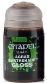 Citadel Shades Paints: Agrax Earthshade Gloss (24ML)