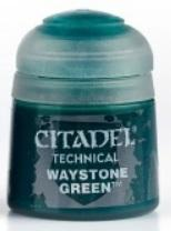 Citadel Technical Paints: Waystone Green (12ml)