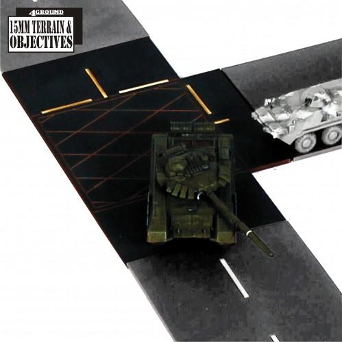 15mm Terrain & Obstacles: T-Junctions