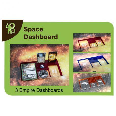 Star Wars X-Wing Accessories: Empire Space Dashboards PACK