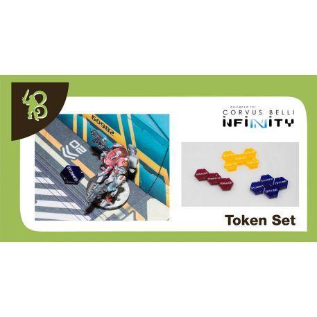 Infinity Accessories: Human Sphere Tokens Set