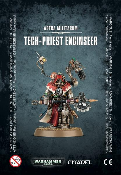 Shadow War: Astra Militarum Tech-Priest Enginseer [KILL TEAM]