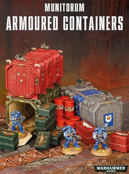 Citadel Terrain: Munitorum Armoured Containers