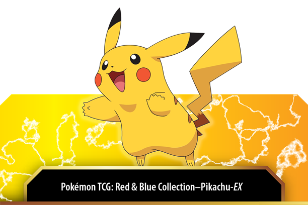 Pokemon CCG: Red & Blue Collection - Pikachu-EX