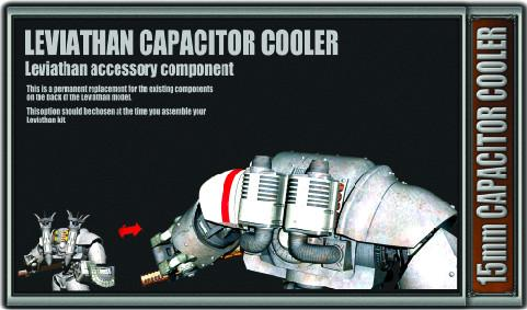 Iron-Core: 15mm Leviathan Capacitor Cooler