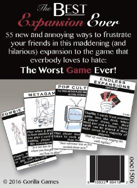 The Worst Game Ever: The Best Expansion Ever (Expansion)