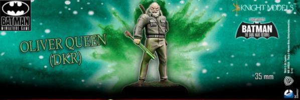 Batman Miniature Game: Oliver Queen (Dark Knight Returns)