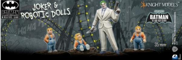 Batman Miniature Game: Joker & Robotic Dolls
