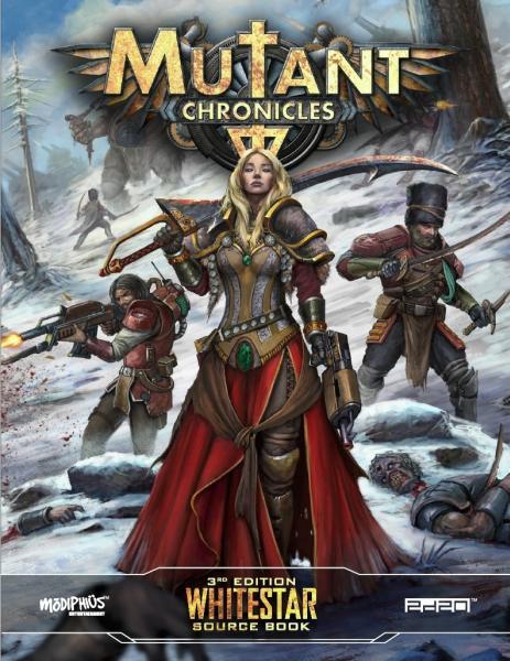 Mutant Chronicles RPG: Whitestar (Full Color)